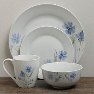 TTU Gallery 'Wildflower' 16-piece Round Dinnerware Set