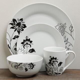 TTU Gallery 'Rebecca' 16-piece Round Dinnerware Set