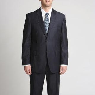 Silvio Bresciani Italian Men's Stripe Suit