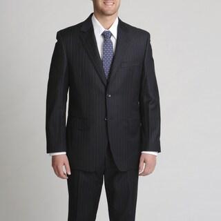 Silvio Bresciani Italian Men's Pinstripe Suit