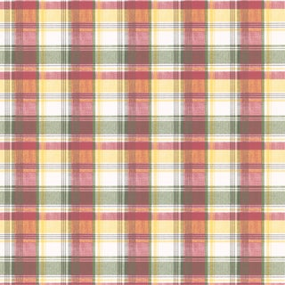 Red plaid wallpaper overstock shopping top rated for Tartan wallpaper next