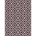 Metropolis 101028 Brown Area Rug (7'10 x 10'3)