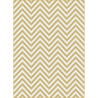 Metropolis 101013 Yellow Area Rug (7'10 x 10'3)