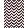 Metropolis 101010 Brown Area Rug (5'3 x 7'3)