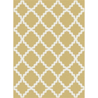 Metropolis 101033 Yellow Area Rug (5'3 x 7'3)
