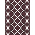 Metropolis 101038 Brown Area Rug (5'3 x 7'3)