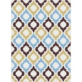 Metropolis 101022 Multicolored Area Rug (5'3 x 7'3)