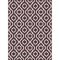 Metropolis 101028 Brown Area Rug (5'3 x 7'3)