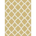 Metropolis 101033 Yellow Area Rug (2'7 x 7'3)