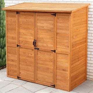 Leisure Season Extra Large Wood Storage Shed