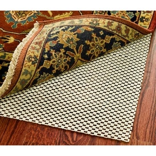 Safavieh Padding White Synthetic Rubber Rug (2' x 12')