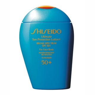 Shiseido Ultimate Sun Protection SPF 50+ Sunscreen Lotion