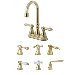 Polished Brass Bar Faucet