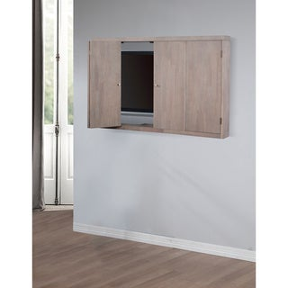 Studio Dove Finish Wall Mount TV Cabinet