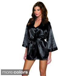 Dreamgirl Shalimar Charmeuse Robe Set