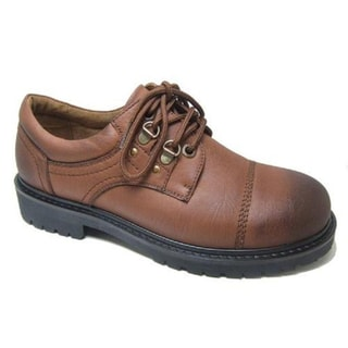 Polar Fox Men's Lace-up Rugged Oxfords