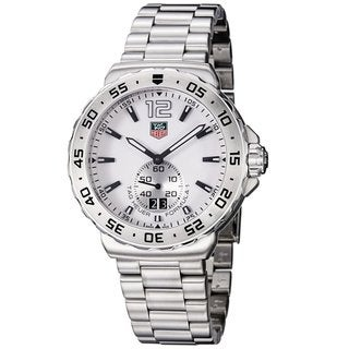 Tag Heuer Men's 'Formula 1' White Dial Steel Watch