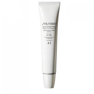 Shiseido Urban Environment Tinted 02 Medium SPF 43 UV Protector Foundation