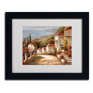Joval 'Home In Tuscany' Framed Matted Art