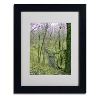 Kathie McCurdy 'Surreal Woods' Framed Matted Landscape Art