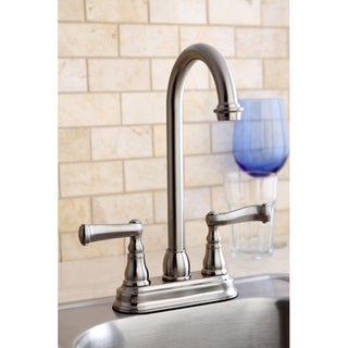 Royale Satin Nickel Bar Faucet