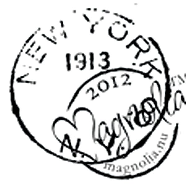 With Love 'New York' Cling Rubber Stamp