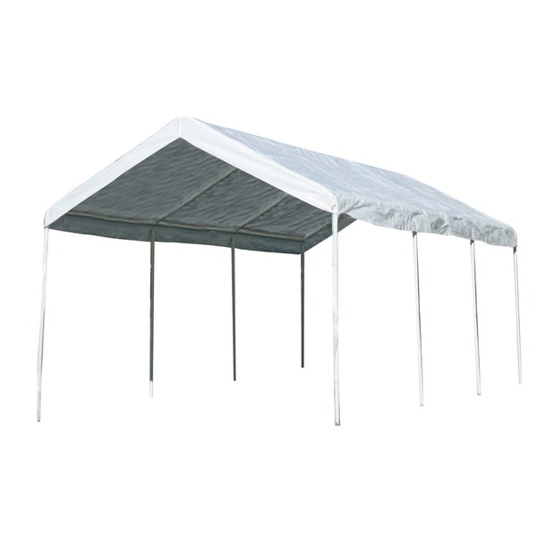 Sportsman Series 10x20-foot White Portable Pavilion