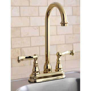Royale Polished Brass Bar Faucet