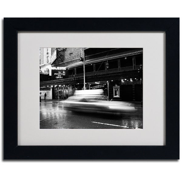 Yale Gurney 'The Majestic' Cityscape Framed Matted Art