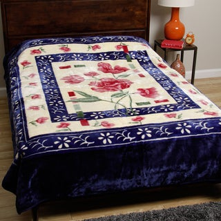 Royal Mink Blue Blanket