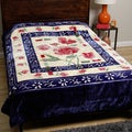 Royal Mink Blue Blanket