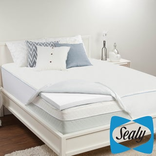 Sealy 2-inch Memory Foam Mattress Topper