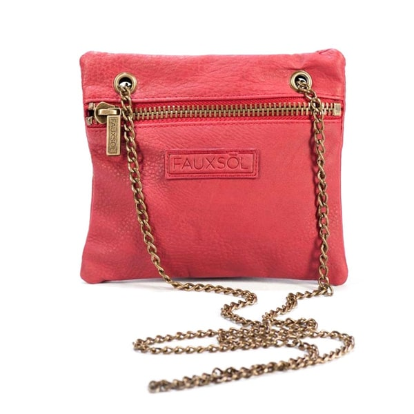 Sacs of Life Chain Reaction Burgundy Crossbody Bag