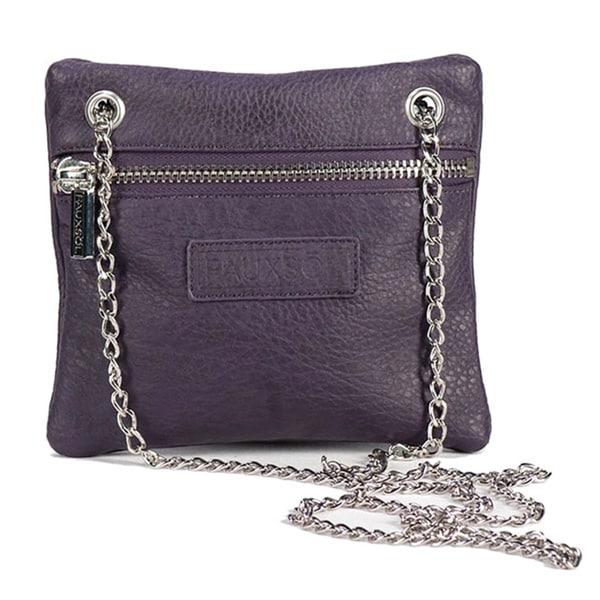 Sacs of Life Chain Reaction Purple Crossbody Bag