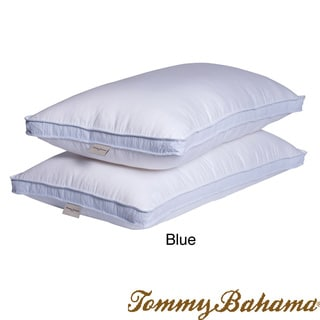 Tommy Bahama Cool Summer Seersucker King-size Pillows (Set of 2)