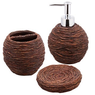 Jovi Home Dwell Bath Accessory 3-piece Set