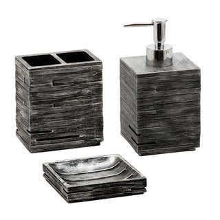 Jovi Home Urban Bath Accessory 3-piece Set