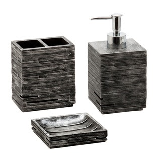 Jovi Home Urban 3-piece Bath Accessory Set