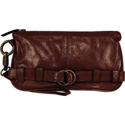 Women's Latico Penelope Clutch/Wristlet 1809 Brown Leather
