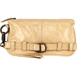 Women's Latico Penelope Clutch/Wristlet 1809 Parchment Leather