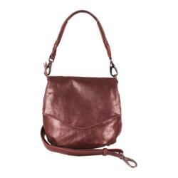 Women's Latico Petra Cross Body Bag 5517 Chestnut Leather