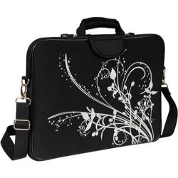 Women's Laurex 17in Laptop Sleeve Black Orchid/Black