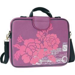 Women's Laurex 13.3in Laptop Sleeve Purple Hibiscus