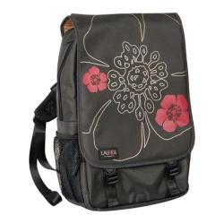 Women's Laurex 15.6in Laptop Computer Backpack Gun Metal