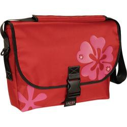 Women's Laurex Large Slim Messenger Bag Red Clover