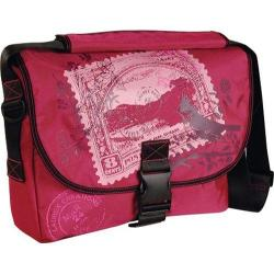 Women's Laurex Medium Slim Messenger Bag Cherry Stamp