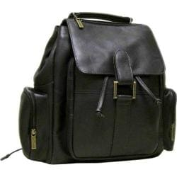 LeDonne Leather Cafe Flapover Backpack
