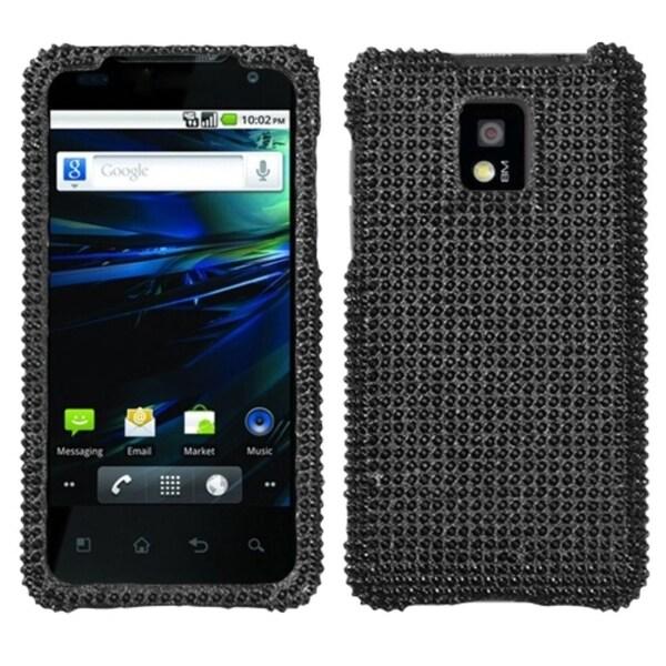 INSTEN Black Diamante 2.0 Phone Case Cover for LG P999 G2X