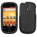BasAcc Black Diamante 2.0 Case for Samsung T589 Gravity Smart