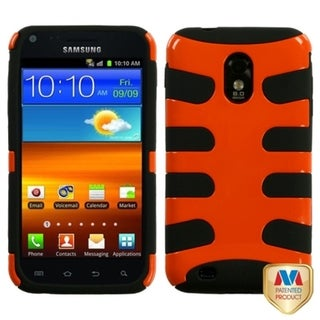 BasAcc Orange/ Black Fishbone Case for Samsung Epic 4G Touch/ D710